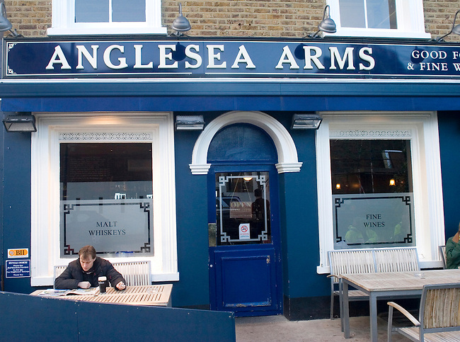 Exterior, Anglesea Arms Restaurant, London, England