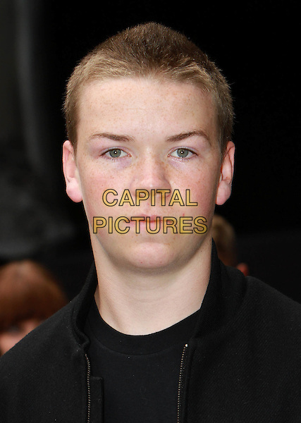Will Poulter.'The Dark Knight Rises' European premiere at Odeon Leicester Square cinema, London, England..18th July 2012.headshot portrait black.CAP/ROS.©Steve Ross/Capital Pictures.