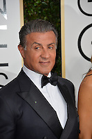 Sylvester Stallone at the 74th Golden Globe Awards  at The Beverly Hilton Hotel, Los Angeles USA 8th January  2017<br /> Picture: Paul Smith/Featureflash/SilverHub 0208 004 5359 sales@silverhubmedia.com
