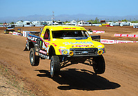 Apr 15, 2011; Surprise, AZ USA; LOORRS driver Rob Naughton (54) during round 3 and 4 at Speedworld Off Road Park. Mandatory Credit: Mark J. Rebilas-.