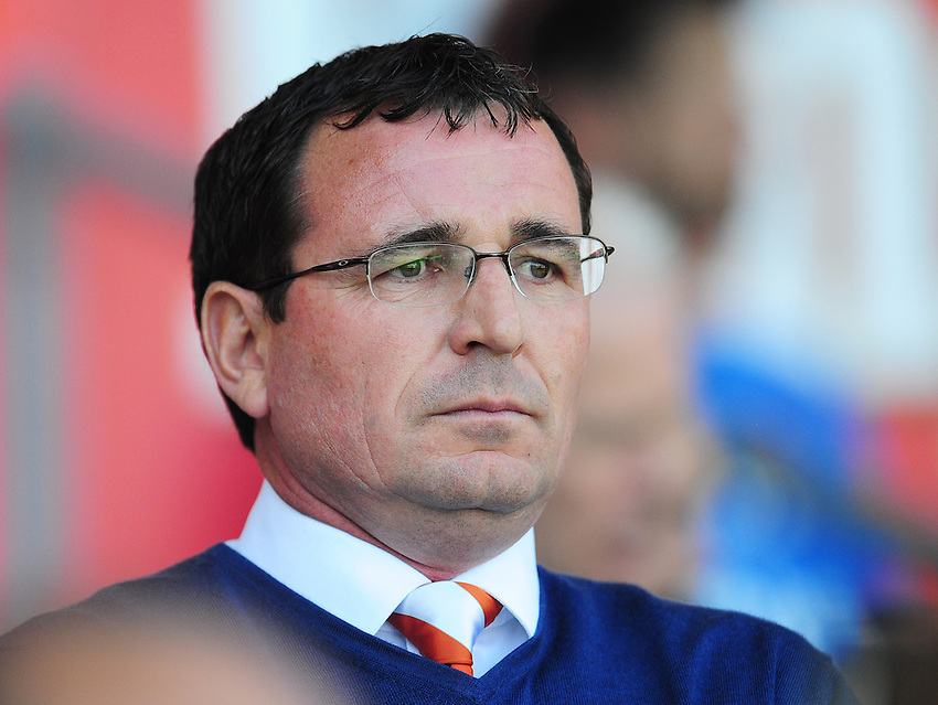 Blackpool manager Gary Bowyer <br /> <br /> Photographer Kevin Barnes/CameraSport<br /> <br /> Football - The EFL Sky Bet League Two - Blackpool v Exeter City - Saturday 6th August 2016 - Bloomfield Road - Blackpool<br /> <br /> World Copyright &copy; 2016 CameraSport. All rights reserved. 43 Linden Ave. Countesthorpe. Leicester. England. LE8 5PG - Tel: +44 (0) 116 277 4147 - admin@camerasport.com - www.camerasport.com