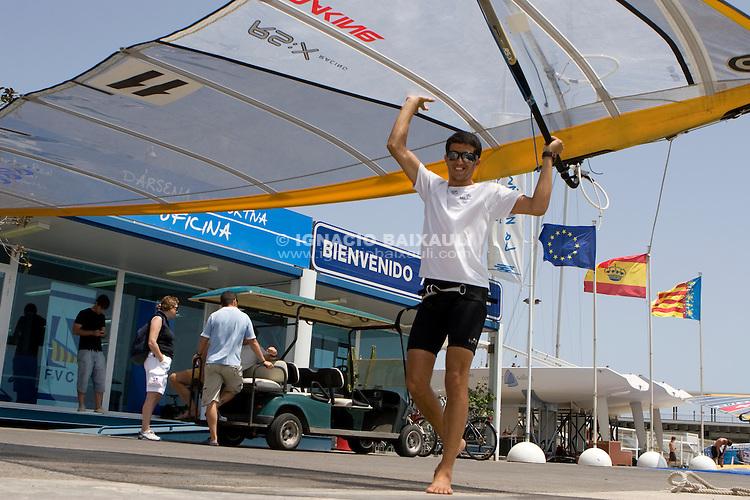 ISR 11 ZUBARI, SHAHAR HAPOEL EILAT .II Master Golden Series RS:X Marina Juan Carlos I