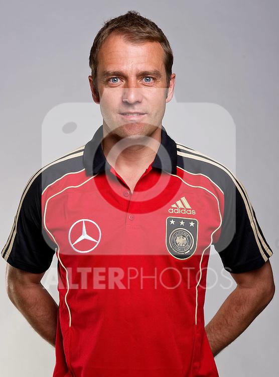 02.06.2010, Commerzbank-Arena, Frankfurt, GER, FIFA Worldcup, Spielerportraits, im Bild Hans-Dieter Flick ( Assistenz Trainer - GER ) Foto © nph / Kokenge