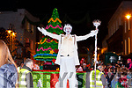 Jack Frost at the Christmas in Killarney parade on Saturday evening