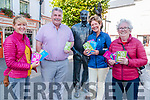 Culture Night: Members of Listowel Writers Week as they handed out post cards of poems of Listowel writers in Main St, Listowel on Friday evening last as [art of Culture  Night. L- R: Catherine Moylan, Chairperson Writers Week, Sean Healy, Eilish Wren & Mary Cogan.