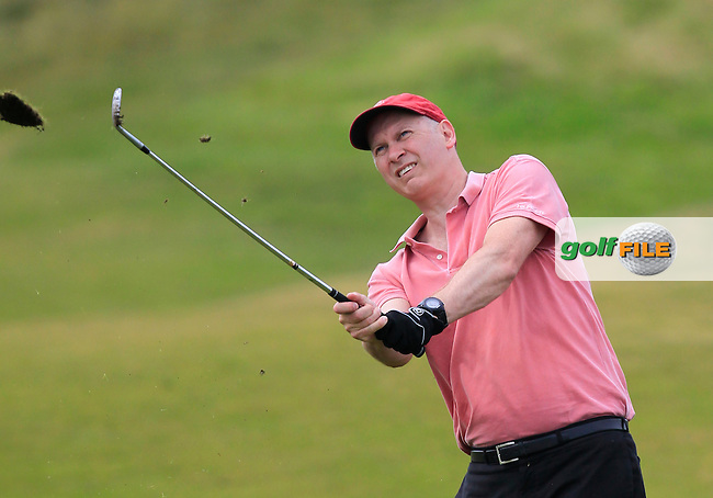 Joun Rooney (MD Flogas) on the 7th fairway during the Flogas Irish Amateur Open Championship Am-Am at Royal Dublin on Monday 9th May 2016.<br /> Picture:  Thos Caffrey / www.golffile.ie