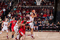 Stanford, CA --January 20, 2017. Stanford Cardinal Women's Basketball vs. University of Arizona. Stanford won 73 - 46.