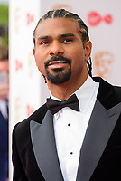 WWW.ACEPIXS.COM<br /> <br /> <br /> London, England, MAY 14 2017<br /> <br /> David Haye attending the Virgin TV BAFTA Television Awards at The Royal Festival Hall on May 14 2017 in London, England.<br /> <br /> <br /> <br /> Please byline: Famous/ACE Pictures<br /> <br /> ACE Pictures, Inc.<br /> www.acepixs.com, Email: info@acepixs.com<br /> Tel: 646 769 0430