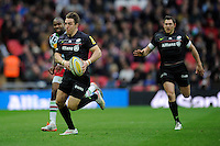 Man of the Match Chris Wyles of Saracens in action