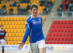 St Johnstone v Hearts....24.03.12   SPL.Murray Davidson celebrates his goal.Picture by Graeme Hart..Copyright Perthshire Picture Agency.Tel: 01738 623350  Mobile: 07990 594431