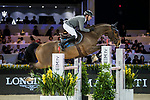Philipp Weishaupt of Germany riding Chacon competes in the Masters One DBS during the Longines Masters of Hong Kong at AsiaWorld-Expo on 11 February 2018, in Hong Kong, Hong Kong. Photo by Ian Walton / Power Sport Images