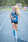Chugiak's Adrianna Proffitt placed ninth  with a time of 19:37.19 at the Palmer Invitational Saturday, Sept 2, 2017.  Photo for the Star by Michael Dinneen