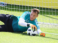 Torwart Manuel Neuer (Deutschland Germany) - 28.05.2018: Training der Deutschen Nationalmannschaft zur WM-Vorbereitung in der Sportzone Rungg in Eppan/Südtirol