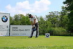 Lee Slattery (ENG) tees on the 6th tee during Day 3 of the BMW Italian Open at Royal Park I Roveri, Turin, Italy, 11th June 2011 (Photo Eoin Clarke/Golffile 2011)