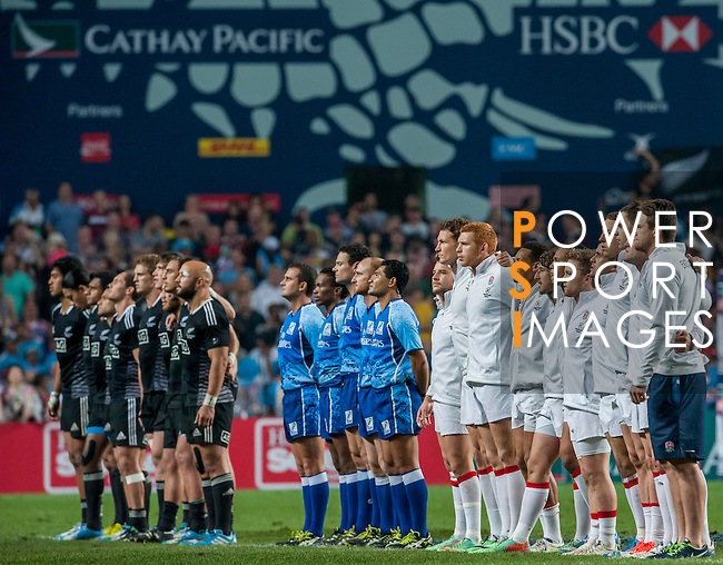 England vs New Zealand on Cup Final during the Cathay Pacific / HSBC Hong Kong Sevens at the Hong Kong Stadium on 30 March 2014 in Hong Kong, China. Photo by Juan Flor / Power Sport Images