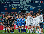 England vs New Zealand on Cup Final during the Cathay Pacific / HSBC Hong Kong Sevens at the Hong Kong Stadium on 30 March 2014 in Hong Kong, China. Photo by Juan Flor / Power Sport Images
