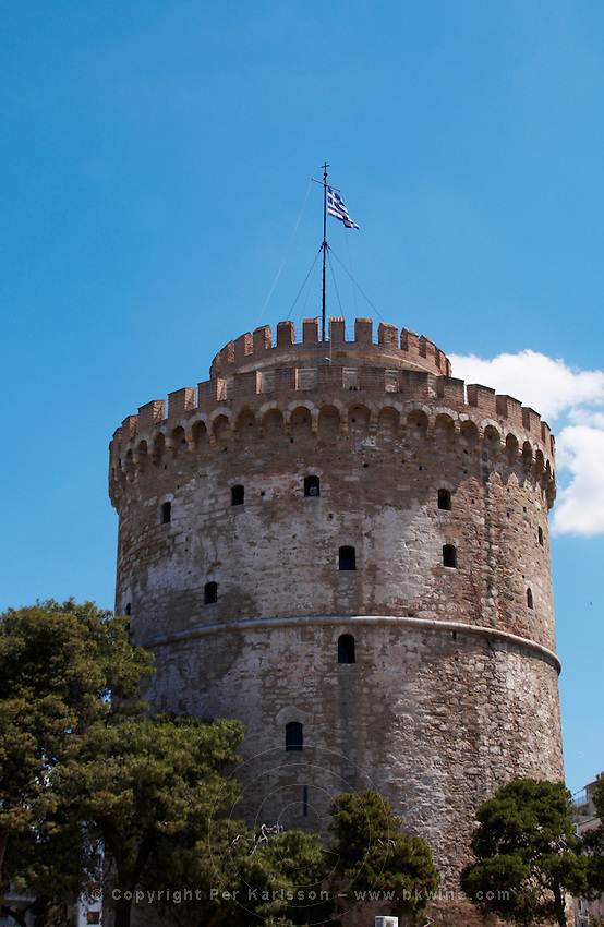 The White Tower. Thessaloniki, Macedonia, Greece