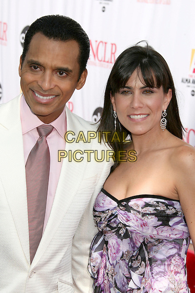 JOHN SECADA & MARI (WIFE).2006 NCLR ALMA Awards at the Shrine Auditorium - Arrivals, Los Angeles, California, USA..May 7th, 2006.Photo: Byron Purvis/AdMedia/Capital Pictures.Ref: BP/ADM.headshot portrait husband married.www.capitalpictures.com.sales@capitalpictures.com.© Capital Pictures.