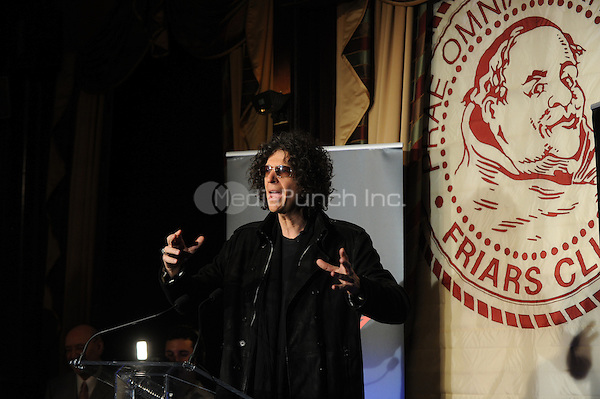 Howard Stern attends the 'America's Got Talent' Press Conference at New York Friars Club on May 10, 2012 in New York City. Credit: Dennis Van Tine/MediaPunch