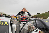 14th April 2018, Circuit de Barcelona-Catalunya, Barcelona, Spain; FIA World Rallycross Championship; Mattias Ekström 5 of Team Audi S1 RX at the Starting Grid