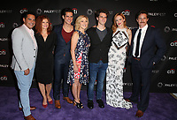 11 September 2017 - Los Angeles, California - Carlos Gomez, Lolita Davidovich, Miles Gaston Villanueva, Edie Falco, Gus Halper, Heather Graham and Sam Jaeger. The Paley Center For Media 11th Annual PaleyFest Fall TV Previews Los Angeles - NBC. <br /> CAP/ADM/FS<br /> &copy;FS/ADM/Capital Pictures
