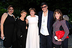 LOS ANGELES - APR 9: Gabrielle Carteris, Michael Kichaven, Ilyanne Morden Kichaven, Kate Linder at The Actors Fund's Edwin Forrest Day Party and to commemorate Shakespeare's 453rd birthday at a private residence on April 9, 2017 in Los Angeles, California