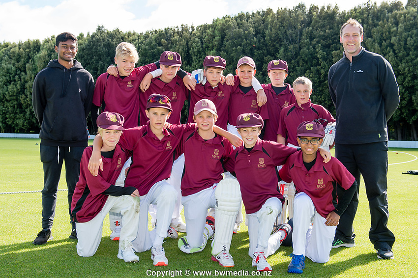 King's School Auckland. National Primary Cup boys' cricket tournament at Lincoln Domain in Christchurch, New Zealand on Wednesday, 20 November 2019. Photo: John Davidson / bwmedia.co.nz