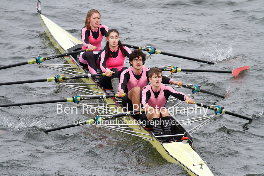 Crew: 224  Westminster Sch  Event: Mixed Quads<br /> <br /> Schools' Head of the River 2017<br /> <br /> To purchase this photo, or to see pricing information for Prints and Downloads, click the blue 'Add to Cart' button at the top-right of the page.