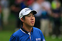 Byeong-Hun An of Korea in action during the final round of the BMW PGA Championship played over the West Course at the Wentworth Club on 24th May 2015 in Virginia Water, Surrey, England. Picture Credit / Phil INGLIS
