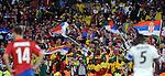 FUDBAL, PRETORIJA, 13. Jun. 2010. - Navijaci Srbije. Utakmica 1. kola grupe D Svetskog prvenstva u fudbalu izmedju Srbije i Gane. Foto: Nenad Negovanovic