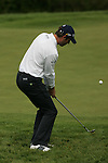 Bradley Dredge chips onto the 7th green during the final round of the Irish Open on 20th of May 2007 at the Adare Manor Hotel & Golf Resort, Co. Limerick, Ireland. (Photo by Eoin Clarke/NEWSFILE)...