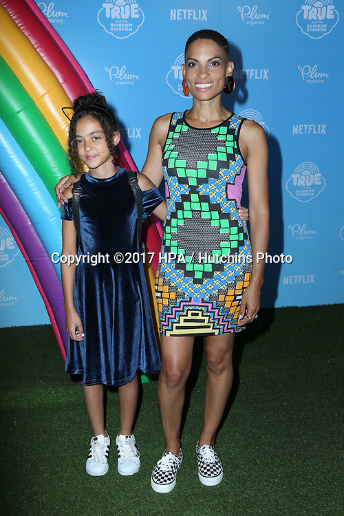 LOS ANGELES - AUG 10:  Guest, Goapele at the True and the Rainbow Kingdom Series LA Premiere at the Pacific Theater At The Grove on August 10, 2017 in Los Angeles, CA
