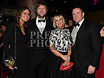 Stephen and Catherine Doherty, Victoria Farrell and Paul Muldoon at the ABACAS Ball in the Westcourt Hotel. Photo:Colin Bell/pressphotos.ie