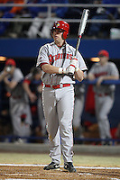 March 9, 2010:  First Baseman Evan Kohli of the Illinois State Redbirds during a game at McKethan Stadium in Gainesville, FL.  Photo By Mike Janes/Four Seam Images