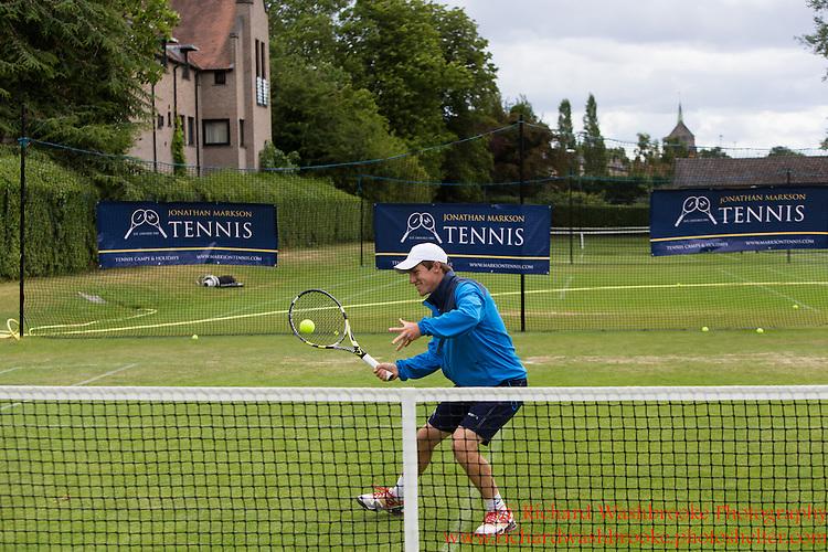 Jonathan Markson Tennis, Oxford Week 4  22nd July 2015<br /> <br /> Photo:  - Richard Washbrooke Photography