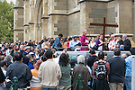 Easter Celbrations At St Paul's Cathedral, Anglican Church of Australia