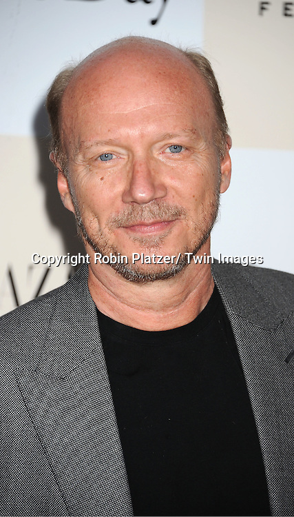 "Paul Haggis attending the New York Premiere of ""One Day"" starring ..Anne Hathaway, Jim Sturgess and Patricia Clarkson on ..August 8, 2011 at The AMC Loews Lincoln Square 13 Theatre in New York City."