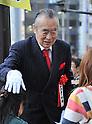 April 7, 2011, Tokyo, Japan - Gubernatorial Election Campaign on Thursday, April 7, 2011 at tokyo, Japan. (Photo by NATSUKI SAKAI/AFLO)