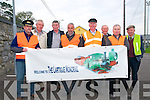 Listowel Mission Parade : Taking part in the Listowel Parish Mission parade on Sunday evening last were members of the Lartigue Monorail Society. L-R : Martin Griffin, Tim O'Leary, Pat Broadben, John Looney, Ray Barrett, Peter McGrath, Michael O'Sullivan & Toddy Buckley.