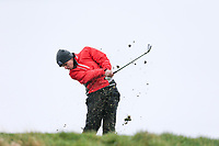 Jack Madden (Royal Portrush) during the SF of matchplay at the 2018 West of Ireland, in Co Sligo Golf Club, Rosses Point, Sligo, Co Sligo, Ireland. 03/04/2018.<br /> Picture: Golffile | Fran Caffrey<br /> <br /> <br /> All photo usage must carry mandatory copyright credit (&copy; Golffile | Fran Caffrey)