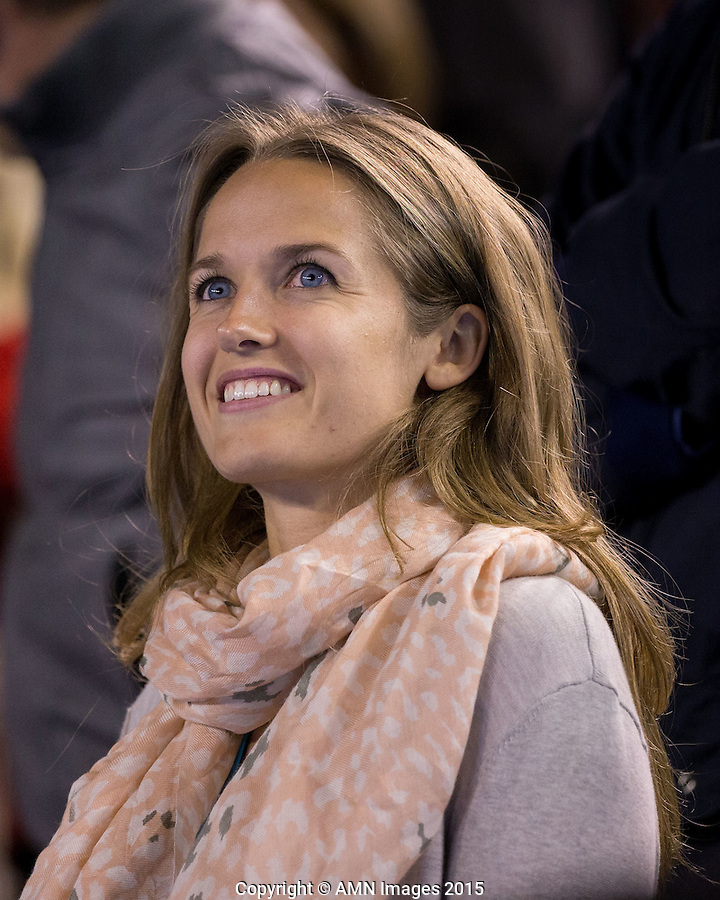 Kim Sears<br /> <br /> Tennis - Australian Open 2015 - Grand Slam -  Melbourne Park - Melbourne - Victoria - Australia  - 26 January 2015. <br /> &copy; AMN IMAGES