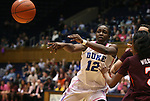 15 February 2012: Duke's Chelsea Gray. The Duke University Blue Devils defeated the Virginia Tech Hokies 67-45 at Cameron Indoor Stadium in Durham, North Carolina in an NCAA Division I Women's basketball game.