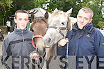 FAIR: Pictured at the Kenmare Fair day on Friday were Gearoid and Gerard O'Sullivan, Glencar.   Copyright Kerry's Eye 2008