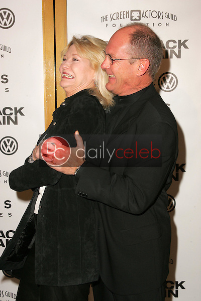 """Dee Wallace and Skip Belyea<br />at the premiere of """"Brokeback Mountain"""". Mann National Theatre, Westwood, CA. 11-29-05<br />Dave Edwards/DailyCeleb.com 818-249-4998"""