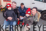 +++Reproduction Free+++ Kerry's Eye<br /> Enjoying the family day out was Paddy, James, Jack and Denise O'Rourke with Dick Dalton Garden and ToolsSupplies (centre) pictured last Sunday at the Brosna Christmas Market.