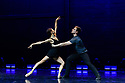 Astana Ballet Theatre presents a mixed bill of four one-act pieces, in their UK debut, in the Linbury Theatre, Royal Opera House. The piece shown is A FUEGO LENTO, choreographed by Ricardo Amarante. Performed by ballet dancers of Astana Ballet Theatre.