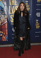 """LOS ANGELES - JANUARY 22:  Carrie Ann Inaba at the opening night of """"The Last Ship"""" on January 22, 2020 at the Ahmanson Theatre in Los Angeles, California. (Photo by Scott Kirkland/PictureGroup)"""