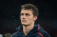 Benjamin Pavard of Bayern Munich before the UEFA Champions League group match between Tottenham Hotspur and Bayern Munich at Wembley Stadium, London, England on 1 October 2019. Photo by Andy Rowland.
