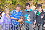 Ann Marie Cole, Denis Lombart, Killian Corbett and Aaron Cole Killarney at the Munster Poultry sale and show in Coolwood Killarney on Sunday....
