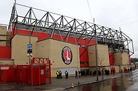 General view of the outside of The North Stand at Charlton Athletic FC during Charlton Athletic vs Oxford United, Sky Bet EFL League 1 Football at The Valley on 3rd February 2018